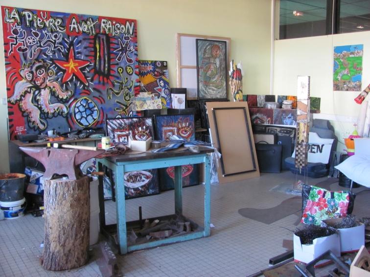 Atelier.artiste.Féfé.Shakers 2014