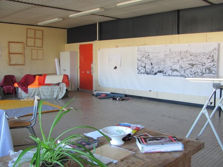 Grand Atelier 1. Artiste résident.Shakers 2014
