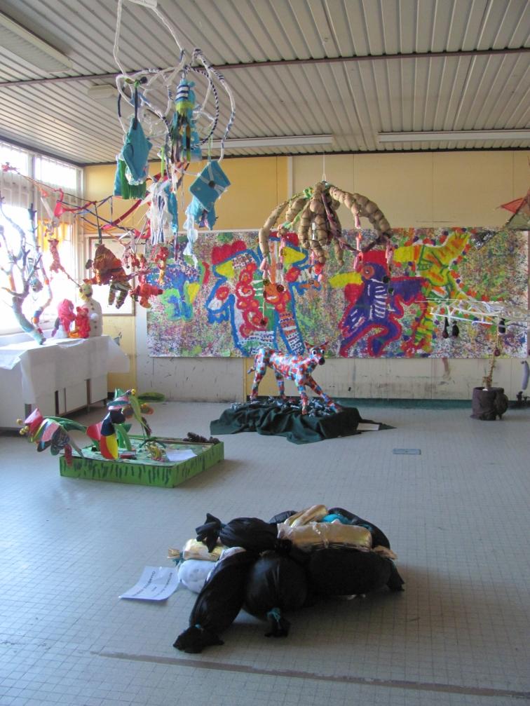 Grand Atelier 2. Artiste résident.Shakers 2014