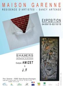 Evelyne Amizet et JF